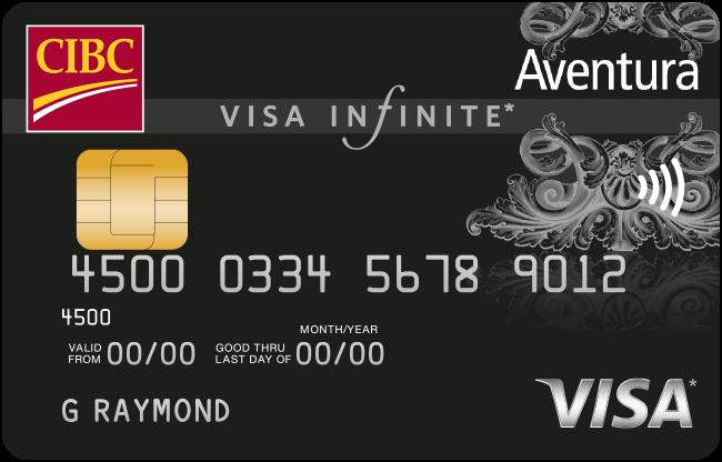 CIBC Aventura® Visa Infinite* Card
