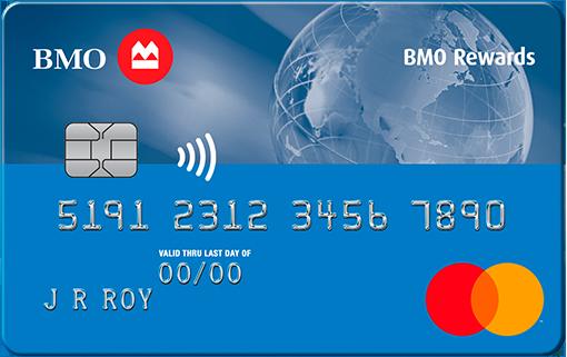 BMO Rewards ® Mastercard ®*