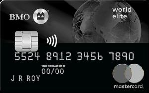 BMO World Elite®* Mastercard®*