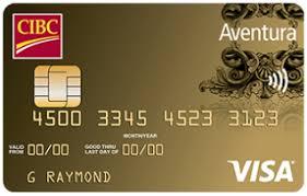 CIBC Aventura® Gold Visa* Card