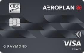 CIBC Aeroplan® Visa Infinite* Card