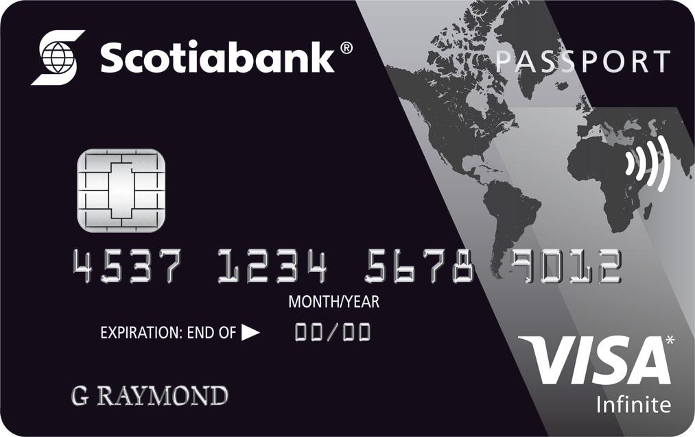 Scotiabank PassportTM Visa Infinite* Card