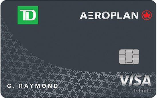 TD® Aeroplan® Visa Infinite* Card