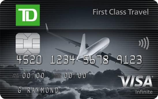 TD First Class Travel®Visa Infinite* Card