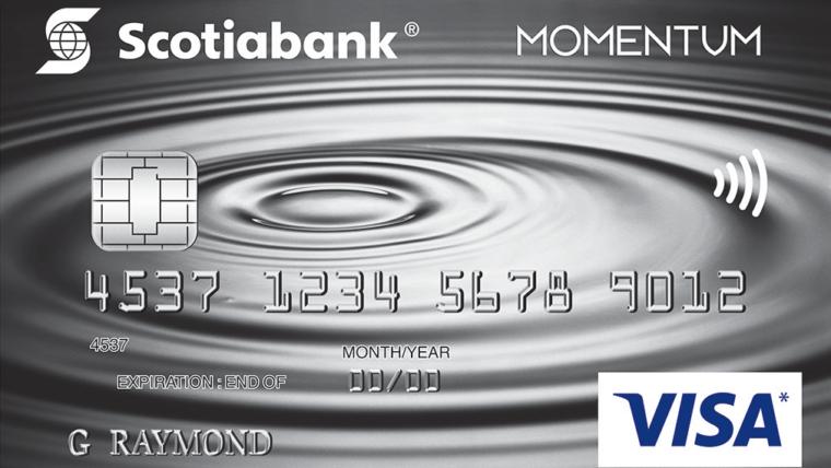 Scotia Momentum®  Visa* Card