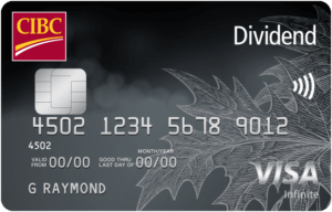 CIBC Dividend Platinum® Visa* Card